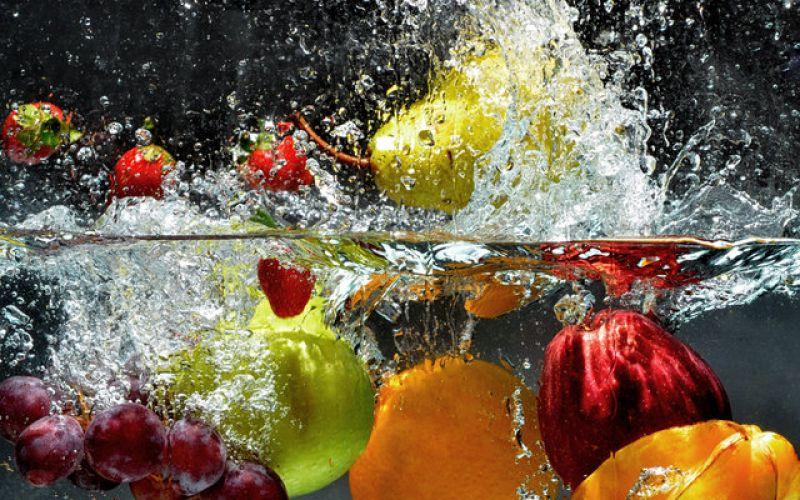 How do I clean fruits and vegetables - Vinegar, lemon or soap?