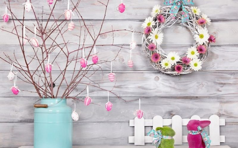 5+1 ideas for decorating your home for Easter