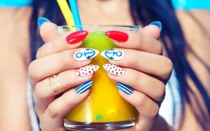 Nails with summer mood!
