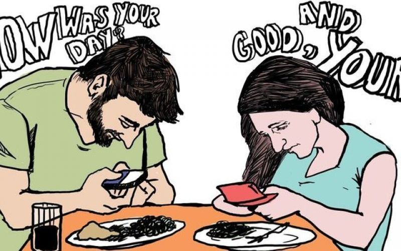 What happens whensocialmediacome into our relationship
