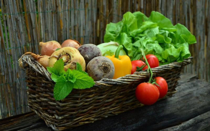 What are the spring fruits and vegetables?
